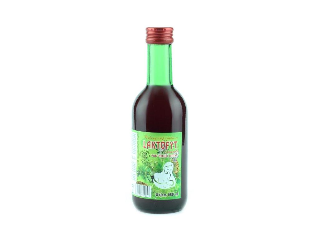 Bylinkový sirup Laktofyt Klášterní officína 250 ml