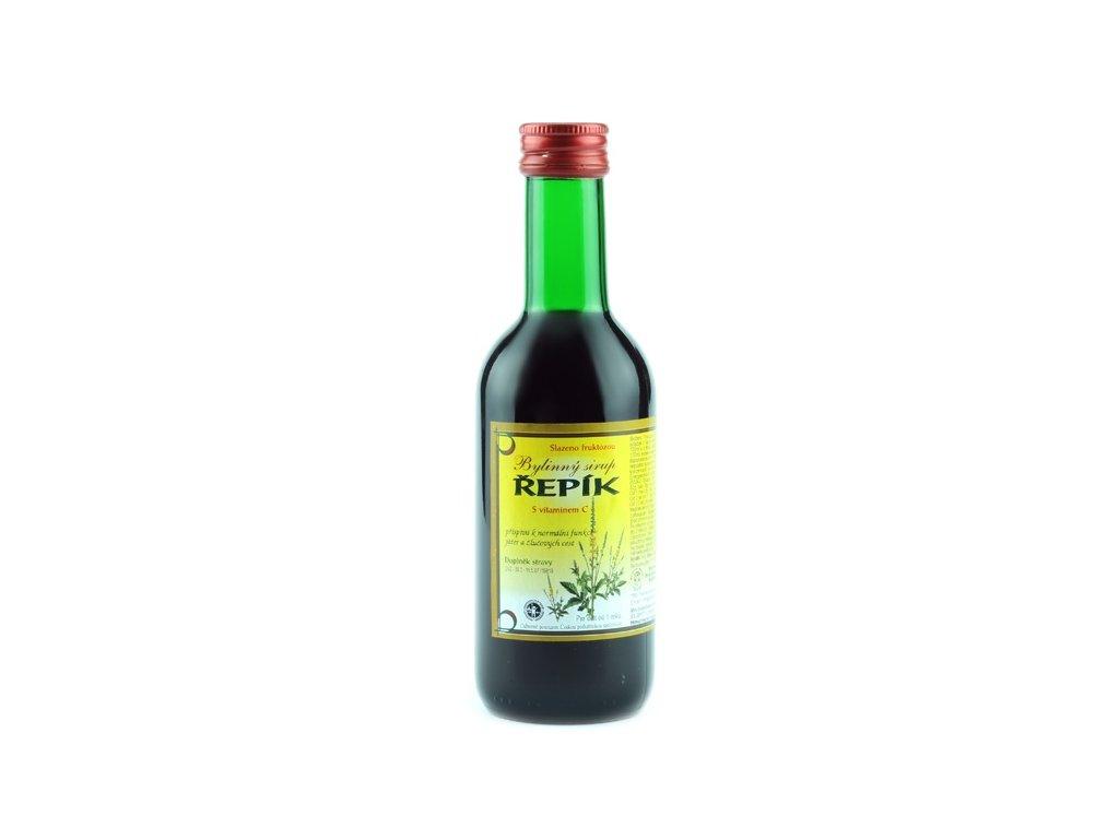 Bylinkový sirup Řepík Klášterní officína 250 ml