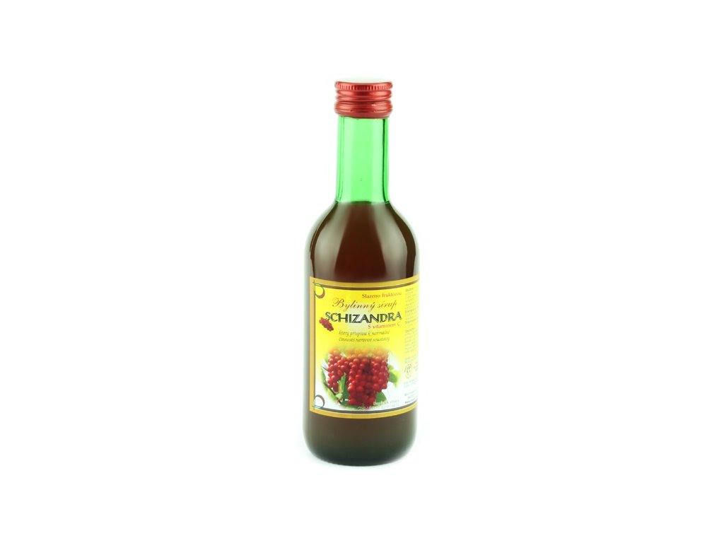 Bylinkový sirup Schizandra Klášterní officína 250 ml