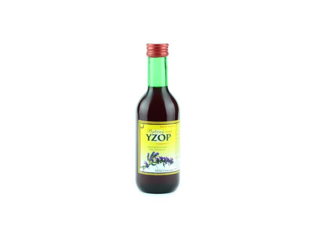 Bylinkový sirup Yzop Klášterní officína 250 ml