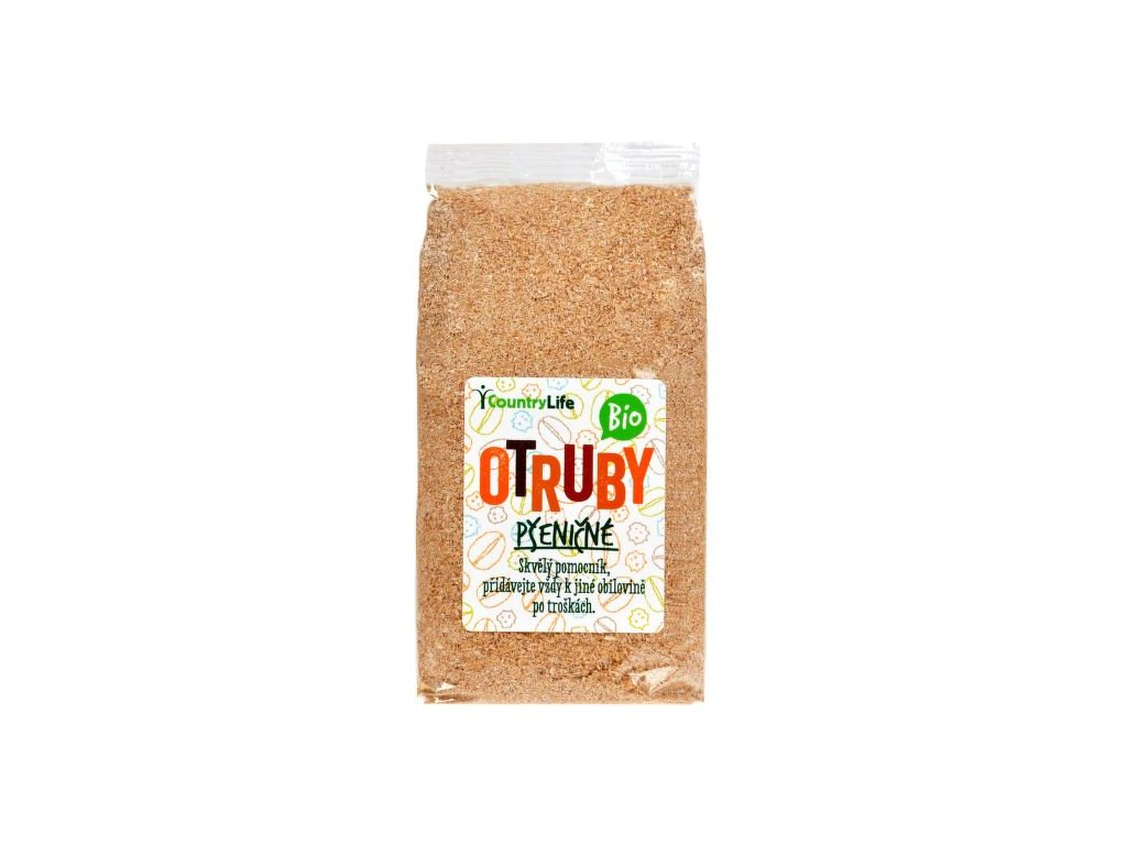 Otruby pšeničné 300 g BIO COUNTRY LIFE
