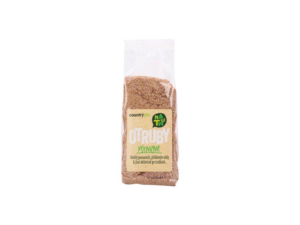 DMT 8/2020 Otruby pšeničné 200 g COUNTRY LIFE DMT 8/2020