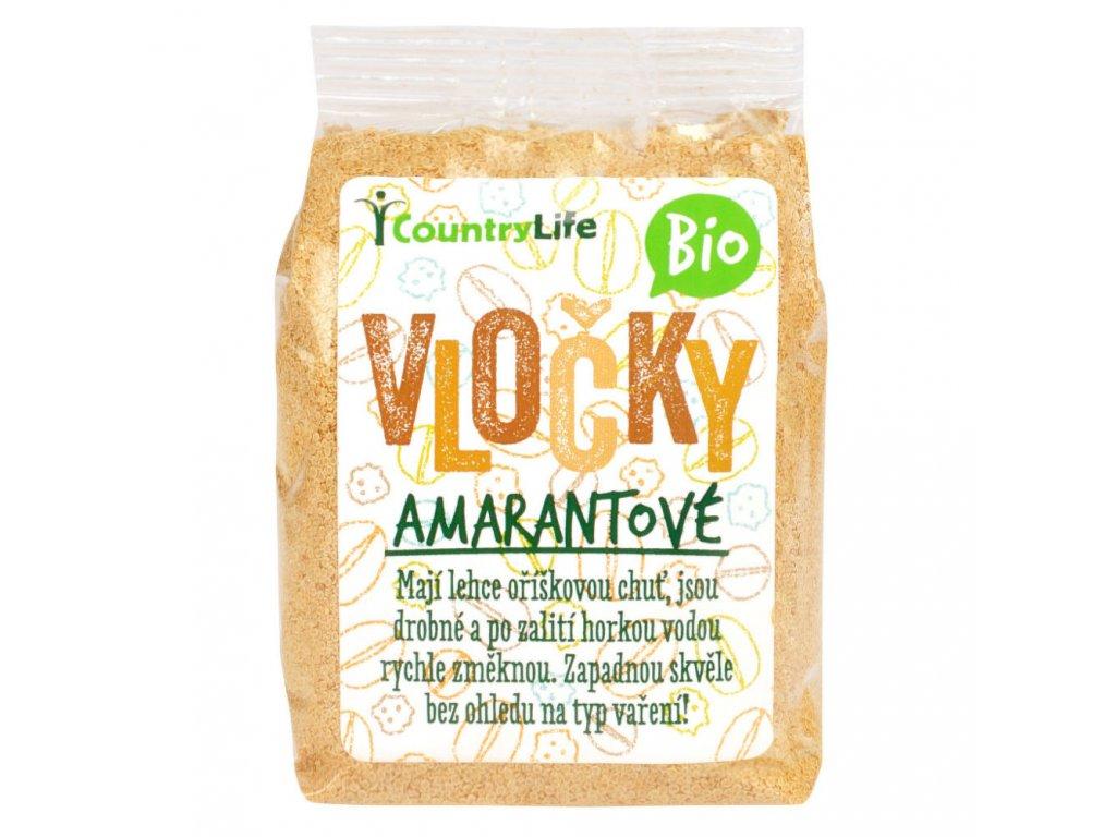 Vločky amarantové 250 g BIO COUNTRY LIFE