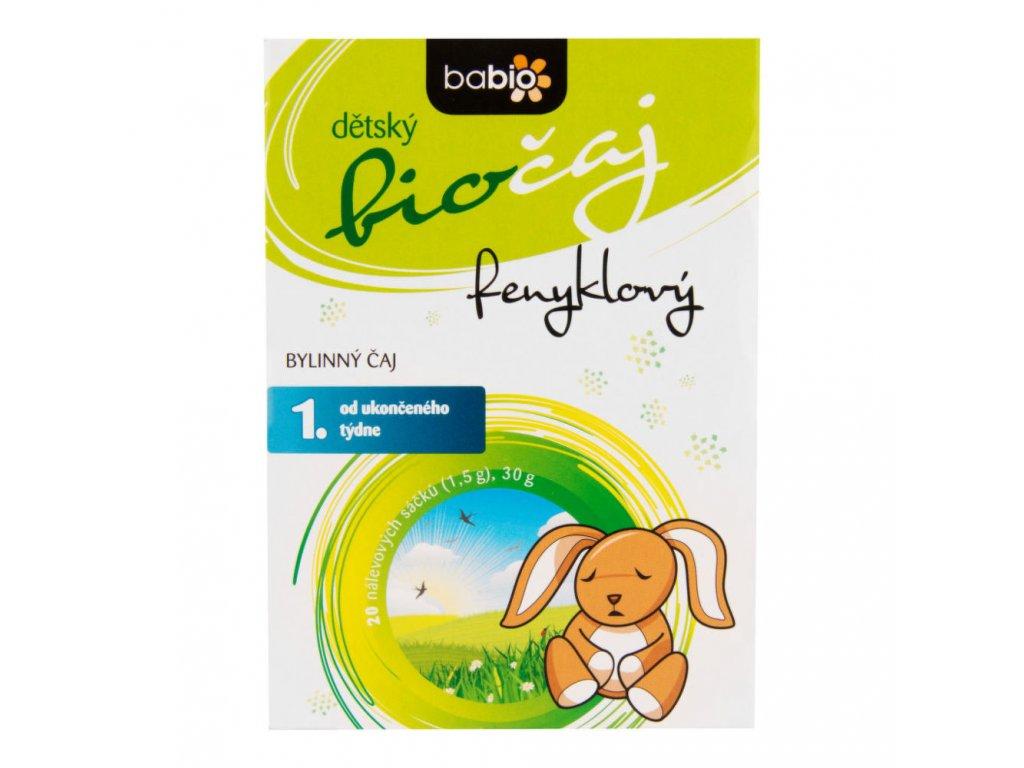 Čaj Fenyklový dětský 30 g BIO BABIO a