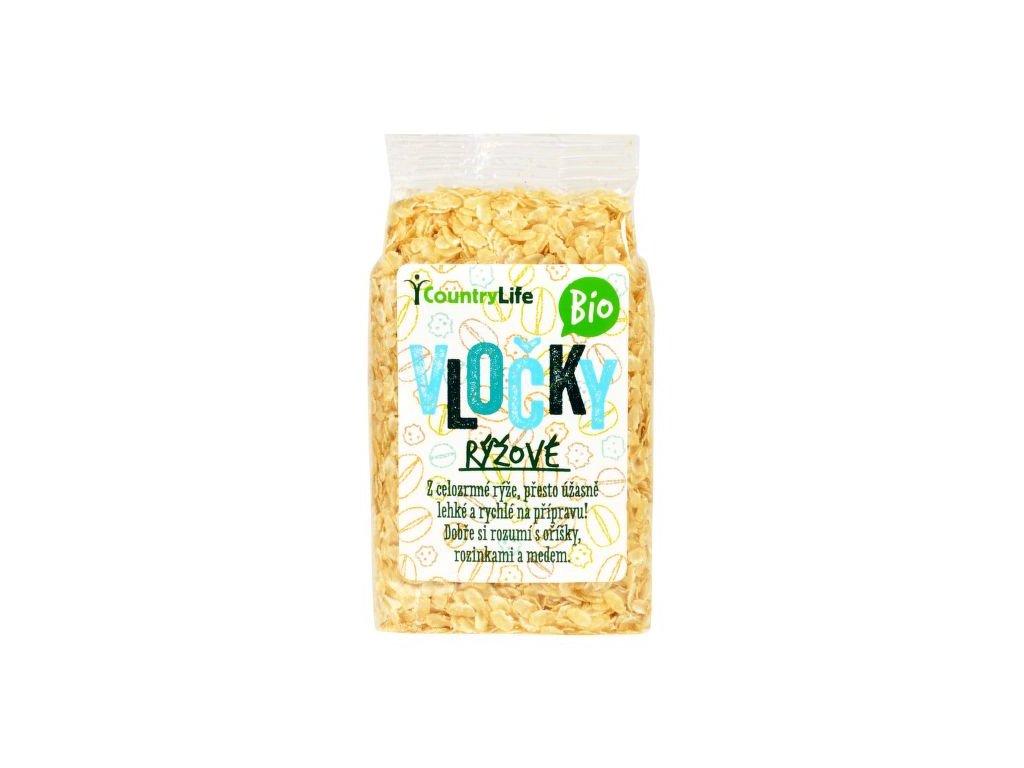 Vločky rýžové 250 g BIO COUNTRY LIFE