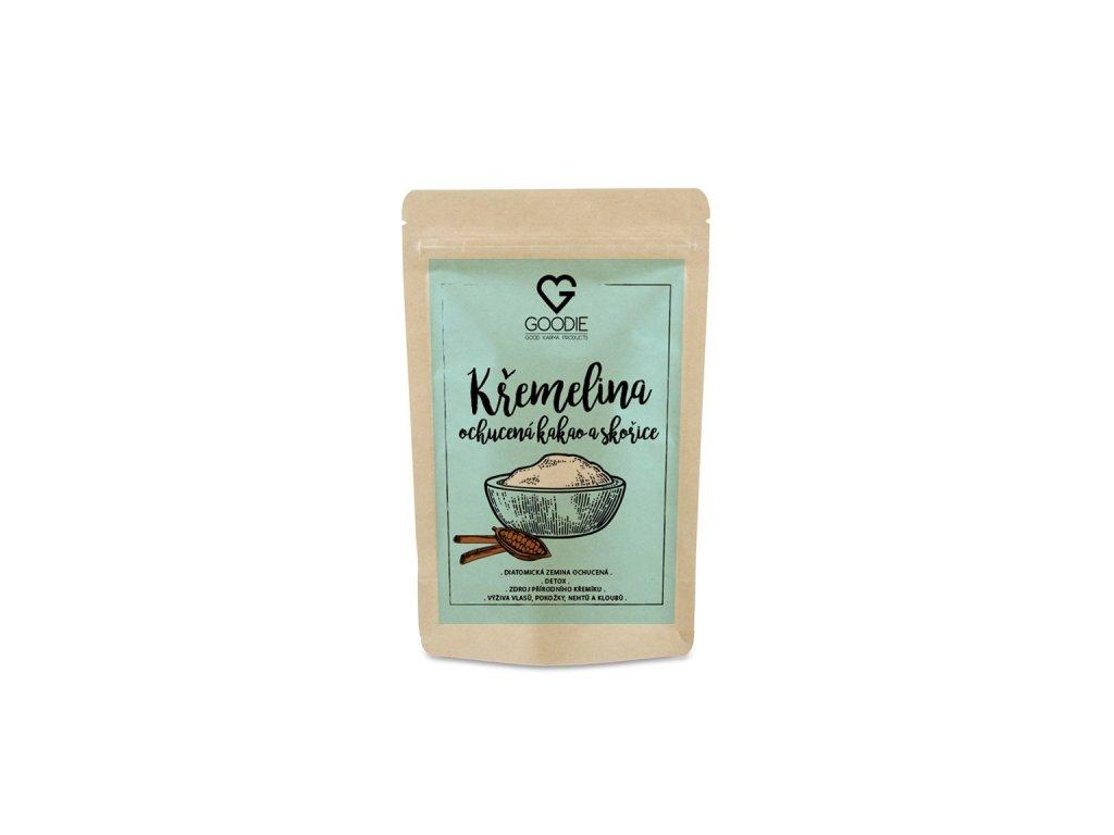 GOODIE Křemelina ochucená s kakaem a skořicí 250 g