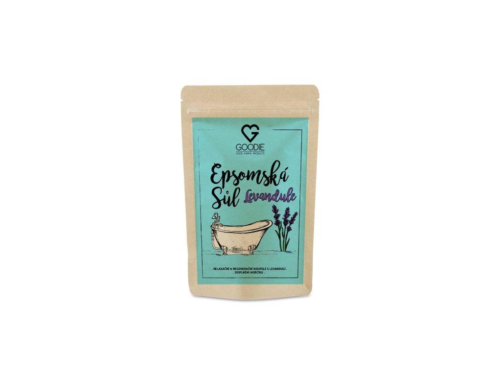 GOODIE Epsomská sůl s levandulí 250 g