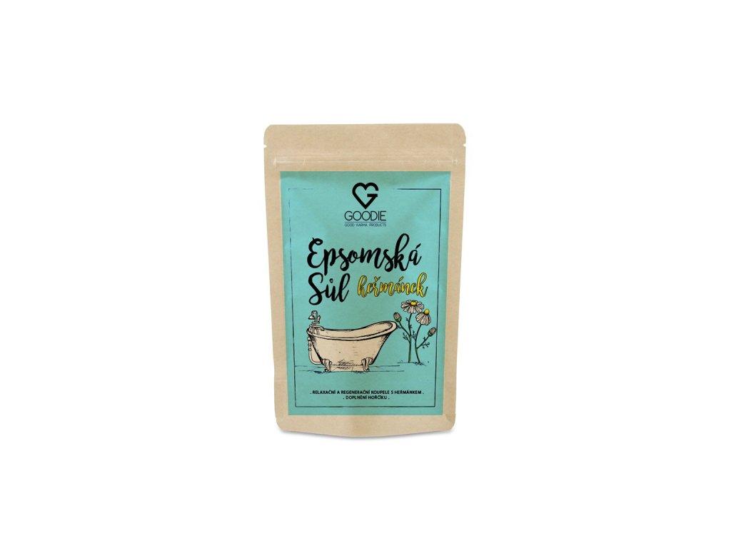 GOODIE Epsomská sůl s heřmánkem 250 g