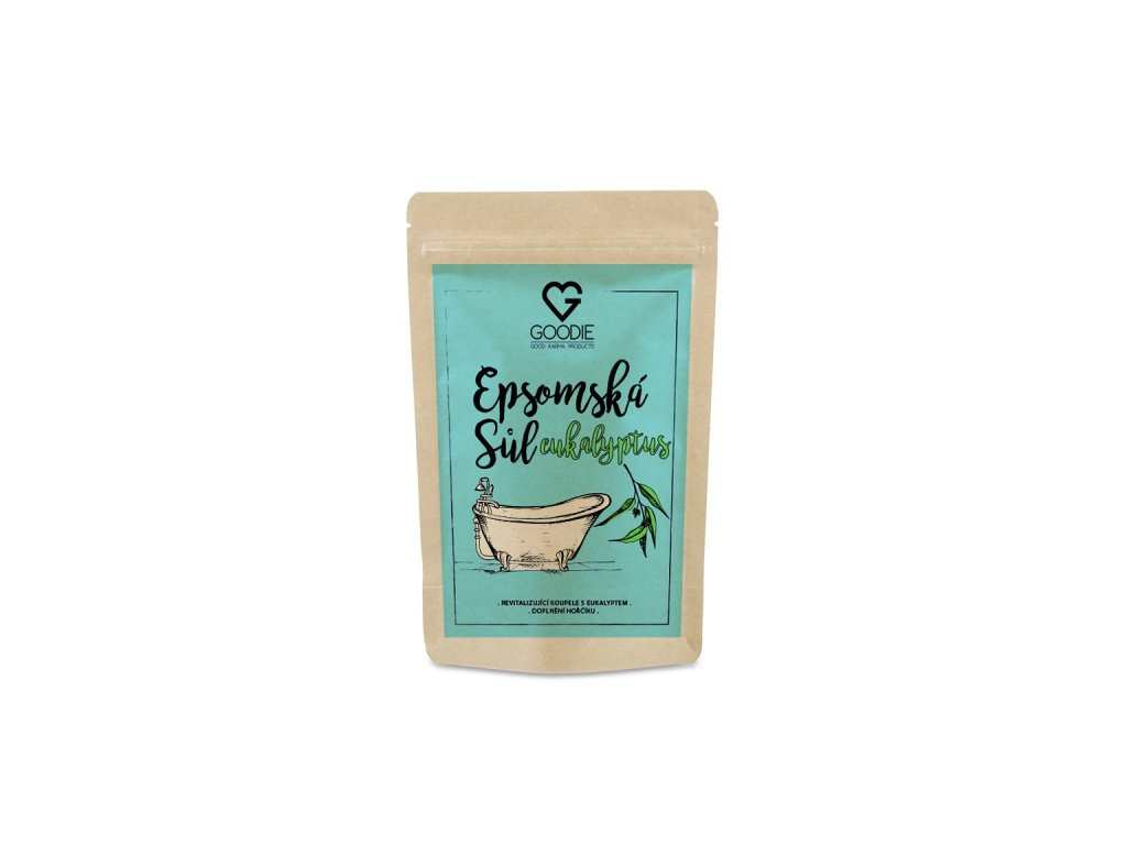 GOODIE Epsomská sůl s eukalyptem 250 g