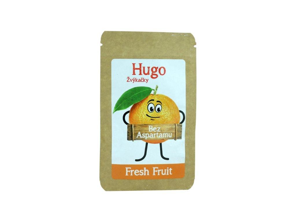 Hugo Žvýkačky Fresh Fruit bez aspartamu 9 g