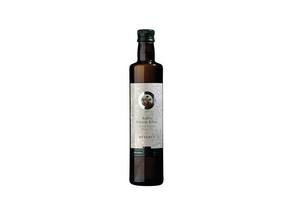 Extra panenský olivový olej nefiltrovaný Companhia das Lezirias Reserva 500 ml a