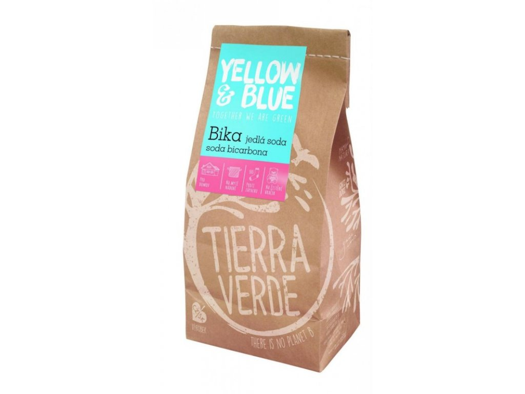 Yellow & Blue Bika Jedlá soda sáček 1 kg