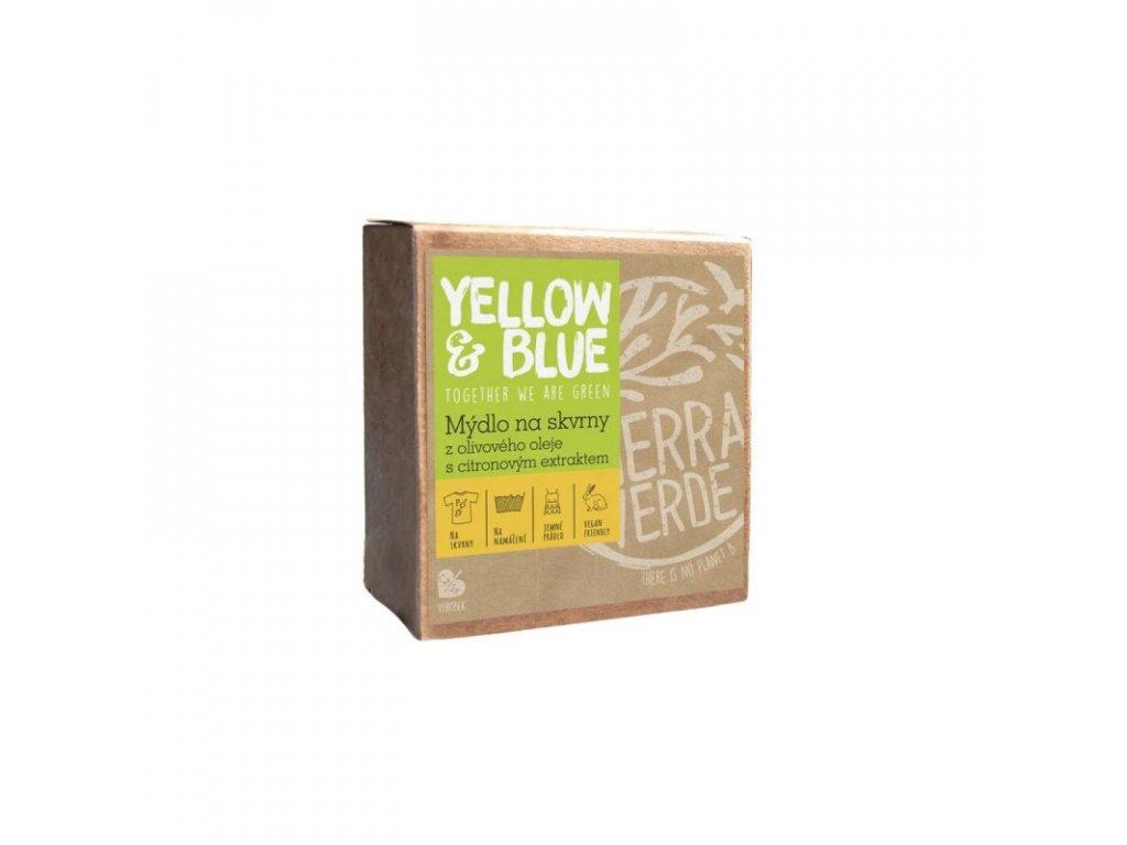 yellow blue mydlo z olivoveho oleje na skvrny 200 g