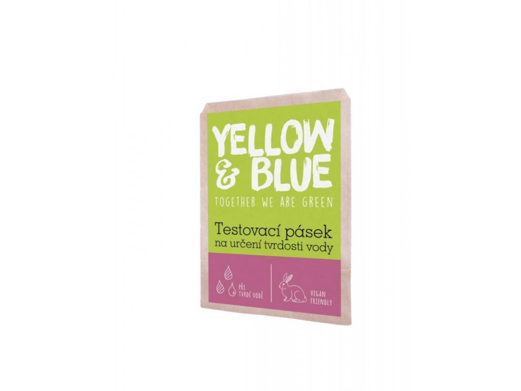 Yellow & Blue testovací pásek na určení tvrdosti vody 1 ks