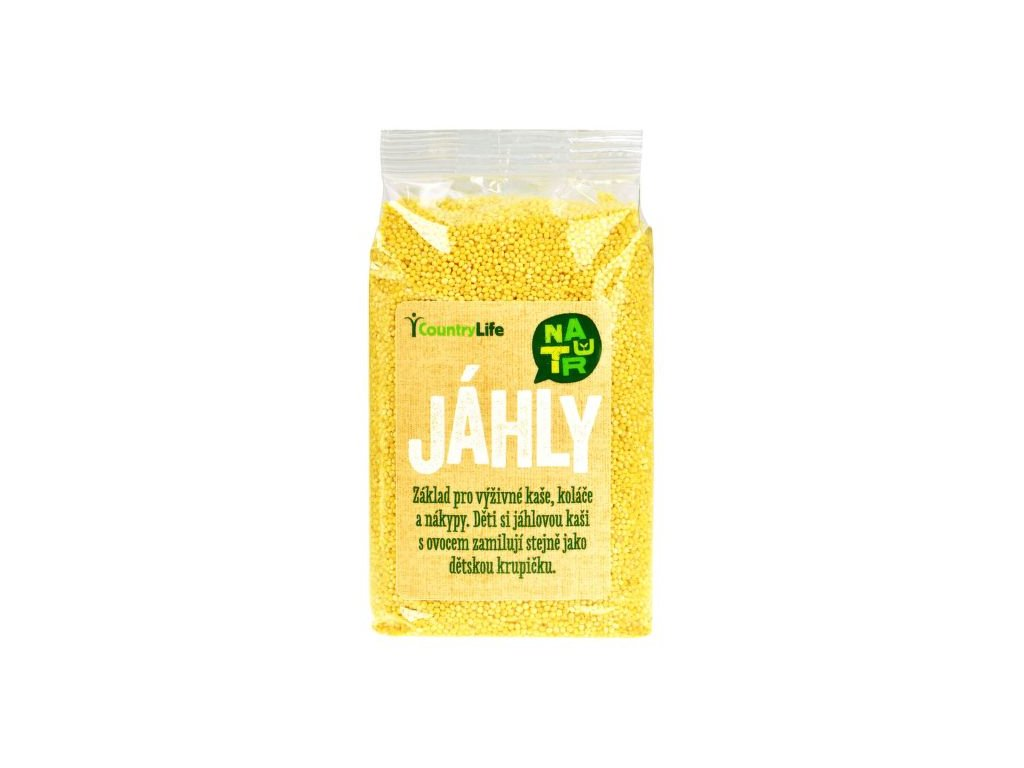 COUNTRY LIFE Jáhly 500 g