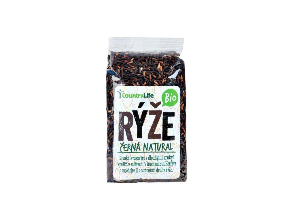 Rýže černá natural 500 g BIO COUNTRY LIFE