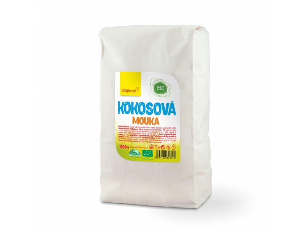 Wolfberry Kokosová mouka BIO 1000 g a