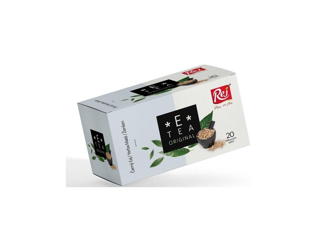 Čaj E tea Original (Yerba maté, ženšen) 20x1,5g