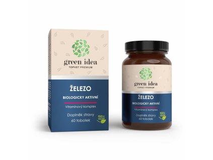 TOPVET Železo vitamínový komplex 60 ks