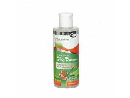 TOPVET Regenerační konopné čistící tonikum 3% 200ml