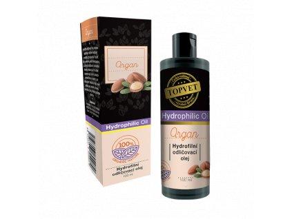 Topvet Hydrofilní odličovací olej Argan 100 ml