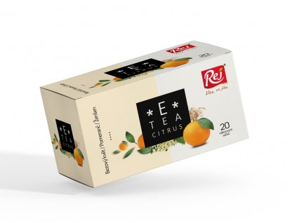 Rej Čaj E tea Citrus bezový květ pomeranč ženšen 30 g