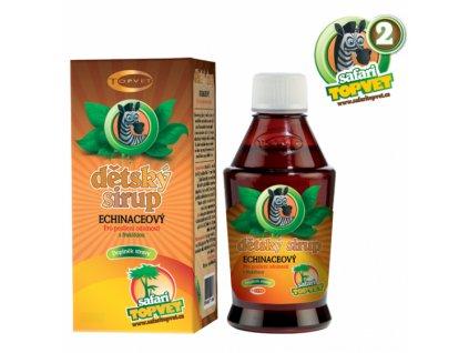 TOPVET Echinacea dětský sirup s fruktozou 300g