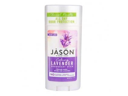 Deodorant tuhý levandule 71 g JASON