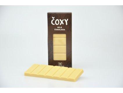 ČOXY bílá čokoláda s xylitolem Natural 50g