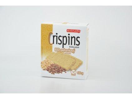 Crispins BIO křehký plátek pohankový s quinoou Extrudo 100g