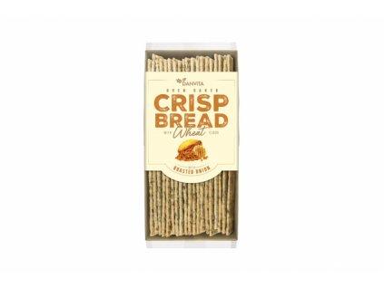 Pšeničný křehký chléb s praženou cibulí Danvita 130g