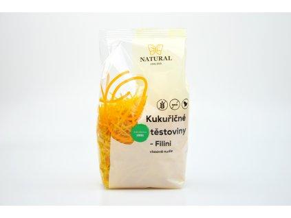 Těstoviny kukuřičné Capellini (vlasové nudle) Natural 300g
