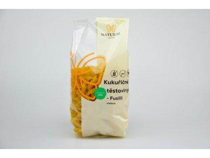 Těstoviny kukuřičné Fusilli (vřetena) Natural 300g