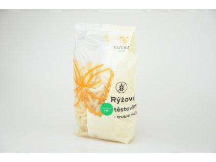 Rýžové těstoviny trubka malá Natural 300g