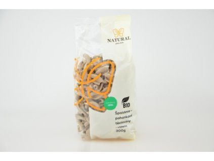 Těstoviny špaldovo pohankové BIO vřetena Natural 300g