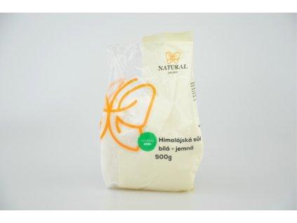 Sůl himalájská bílá jemná Natural 500g