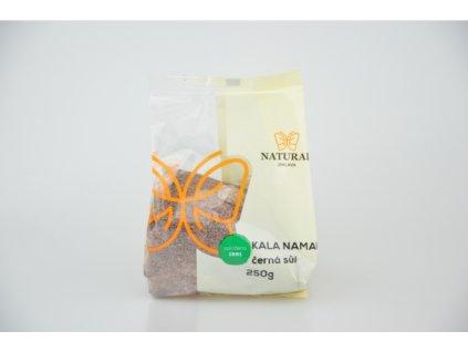 Sůl himalájská černá Kala namak Natural 250g