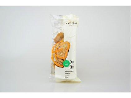 Sušenky amaranthové vanilkové celozrnné bez vajec a mléka Natural 150g