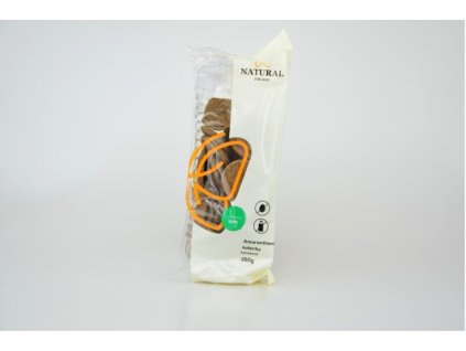 Sušenky amaranthové karobové celozrnné bez vajec a mléka Natural 150g