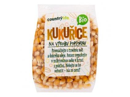 Kukuřice na výrobu popcornu 200 g BIO COUNTRY LIFE