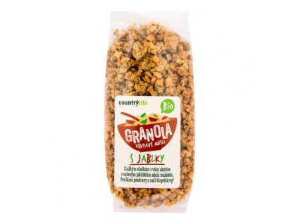Granola Křupavé müsli s jablky 350 g BIO COUNTRY LIFE