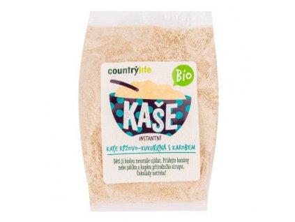 Kaše rýžovo kukuřičná s karobem 200 g BIO COUNTRY LIFE