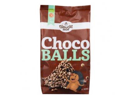 Kuličky čokoládové bezlepkové 300 g BIO BAUCK