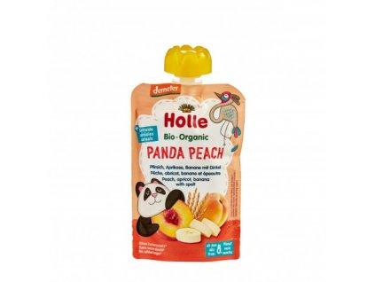 Ovocné pyré broskev, meruňka, banán BIO pro děti 100 g Holle