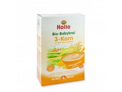 Kaše 3 zrna BIO pro děti 250 g Holle