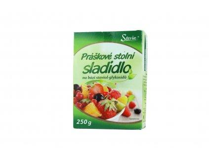 Práškové stolní sladidlo Stevia 250g