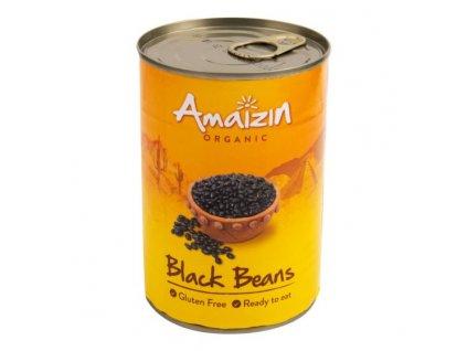 Fazole černá sterilovaná 400 g BIO AMAIZIN
