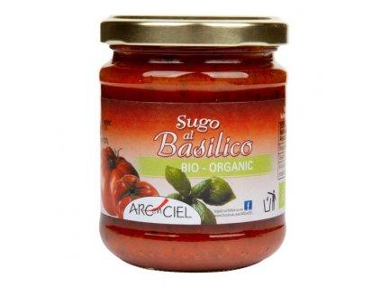 Omáčka rajčatová s bazalkou 190 g BIO ARC EN CIEL