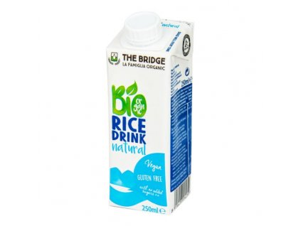 Nápoj rýžový 250 ml BIO THE BRIDGE