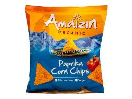 Chipsy kukuřičné paprikové 75 g BIO AMAIZIN